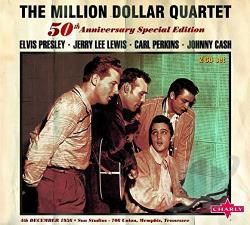 Cash, Johnny / Lewis, Jerry Lee / Million Dollar Quartet / Perkins, Carl / Presley, Elvis - Complete Million Dollar Sessions -50th Anniv. Special Edition CD Cover Art