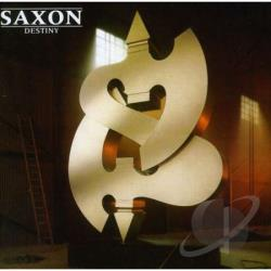 Saxon - Destiny CD Cover Art