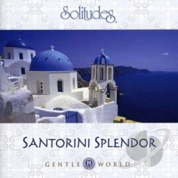 Gibson, Dan - Santorini Splendor CD Cover Art
