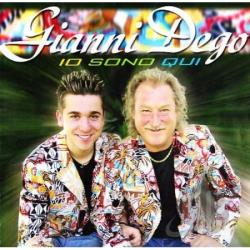 Gianni, Dego - Io Sono Qui CD Cover Art