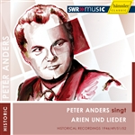 Anders, Peter - Peter Anders singt Arien und Lieder CD Cover Art