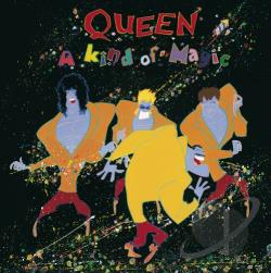 Queen - Kind Of Magic SA Cover Art