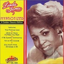Jones, Linda - Hypnotized: 20 Golden Classics CD Cover Art