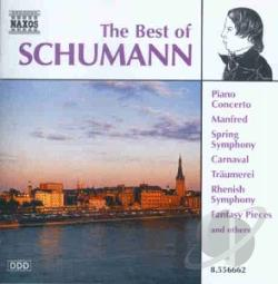 Schumann - Best of Schumann CD Cover Art