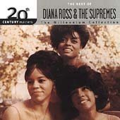 Supremes - 20th Century Masters: The Millennium Collection: Best of Diana Ross & the Supremes CD Cover Art