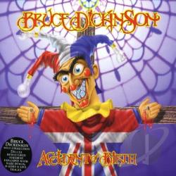 Dickinson, Bruce - Accident of Birth CD Cover Art