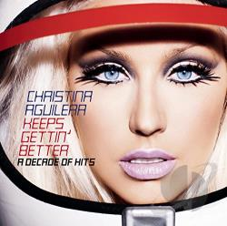 Aguilera, Christina - Keeps Gettin' Better: A Decade of Hits CD Cover Art