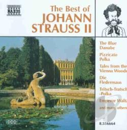 Strauss, Johann, Jr. - Best of Johann Strauss II CD Cover Art