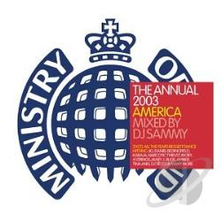 Dj Sammy - Ministry Of Sound: The Annual 2003 CD Cover Art