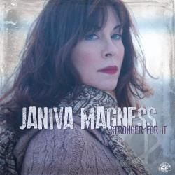 Magness, Janiva - Stronger for It CD Cover Art