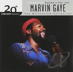 Gaye, Marvin - 20th Century Masters - The Millennium Collection: The Best of Marvin Gaye, Vol. 2 CD Cover Art