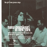 Mouskouri, Nana - Nana Mouskouri in New York CD Cover Art