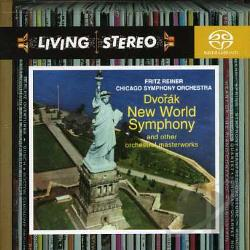Cso / Dvorak / Reiner / Smetana / Weinberger - Dvorak's New World Symphony and Other Orchestral Masterworks CD Cover Art