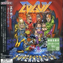 Edguy - Superheroes CD Cover Art