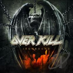 Overkill - Ironbound CD Cover Art