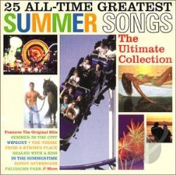 25 All-Time Greatest Summer Songs: The Ultimate Collection CD Cover Art