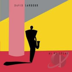 Sanborn, David - As We Speak CD Cover Art