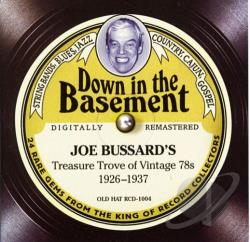 Down in the Basement: Joe Bussard's Treasure Trove of Vintage 78s CD Cover Art