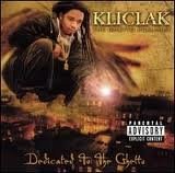 Kliclak - Dedicated to the Ghetto CD Cover Art