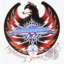 Dokken - Lightning Strikes Again CD Cover Art