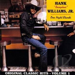 Williams, Hank, Jr. - One Night Stands CD Cover Art