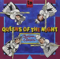 Albinoni, T. / Corelli / Handel - Queens of the Night: Bassoon Classics CD Cover Art
