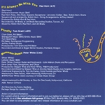 Midnight Groove: The Art Of Smooth Jazz CD Cover Art