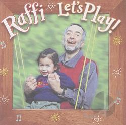 Raffi - Let's Play! CD Cover Art