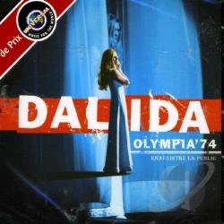 Dalida - Olympia 1974 CD Cover Art