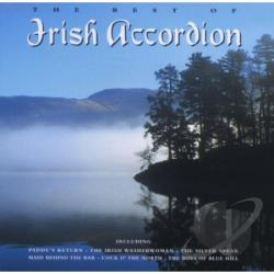 Best Of Irish Accordion CD Cover Art