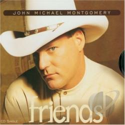 Montgomery, John Michael - Friends CD Cover Art