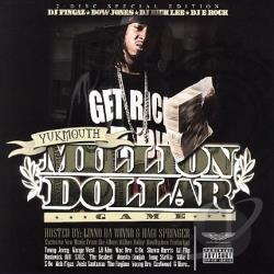 Yukmouth - Million Dollar Game CD Cover Art