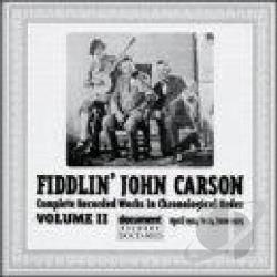 Carson, Fiddlin' John - Complete Recorded Works, Vol. 2 (1924 - 1925) CD Cover Art