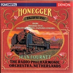 Fournet - Arhur Honegger: Pacific 231 CD Cover Art