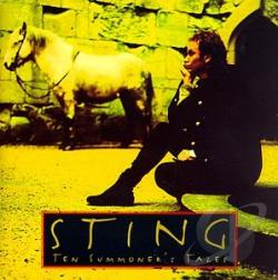 Sting - Ten Summoner's Tales CD Cover Art