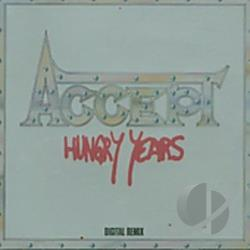 Accept - Hungry Years CD Cover Art