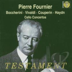 Boccherini / Couperin / Haydn / Vivaldi - Boccherini, Vivaldi, Couperin, Haydn: Cello Concertos CD Cover Art