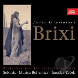 Vernerova, Ludmila - Brixi: Judas Iscariothes CD Cover Art