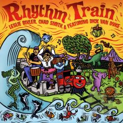 Bixlar, Leslie / Bixler, Leslie / Chad Smith (Drums) / Van Dyke, Dick - Rhythm Train CD Cover Art