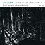 Lonquich / Widmann - Schubert: Fantasie; Rondo; Sonate CD Cover Art