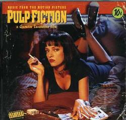 Pulp Fiction CD Cover Art