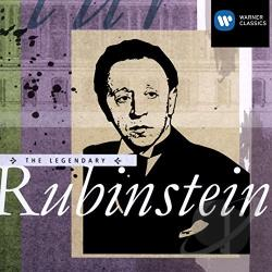 Rubinstein, Artur - Legendary Rubinstein CD Cover Art