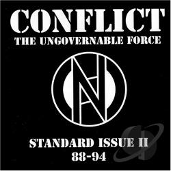 Conflict - Standard Issue, Vol. 2: '88 - '94 CD Cover Art