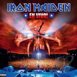 Iron Maiden - En Vivo! LP Cover Art