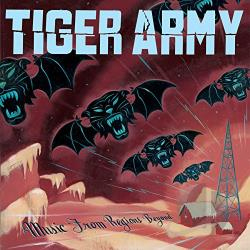 Tiger Army - Music from Regions Beyond CD Cover Art