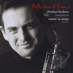 Forshaw: sax / Pledge: pno - Reflections of France CD Cover Art