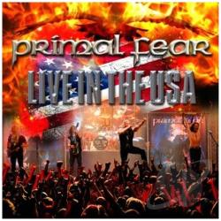 Primal Fear - Live in the USA CD Cover Art