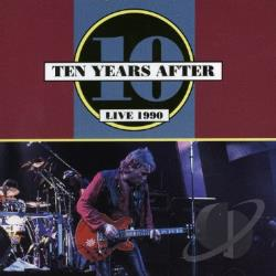 Ten Years After - Live 1990 CD Cover Art