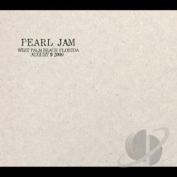 Pearl Jam - 8/9/00: West Palm Beach, Florida CD Cover Art