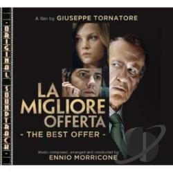Morricone, Ennio - La Migliore Offerta (The Best Offer) CD Cover Art